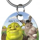 Shrek and Donkey key ring