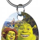 Shrek and fiona key ring