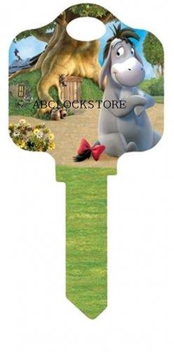 Dinsey new Eeyore 2 kw1 house key D-44 KW1