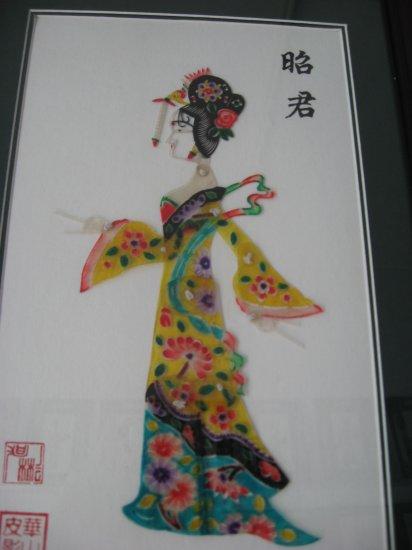 Shadowgraph  Four big beauties-Wang Zhaojun(0801005-2)