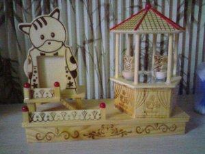 Cat and Rabbit  windmill FC006