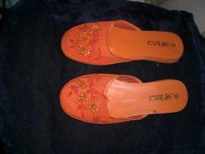 Orange Chinese Slipper