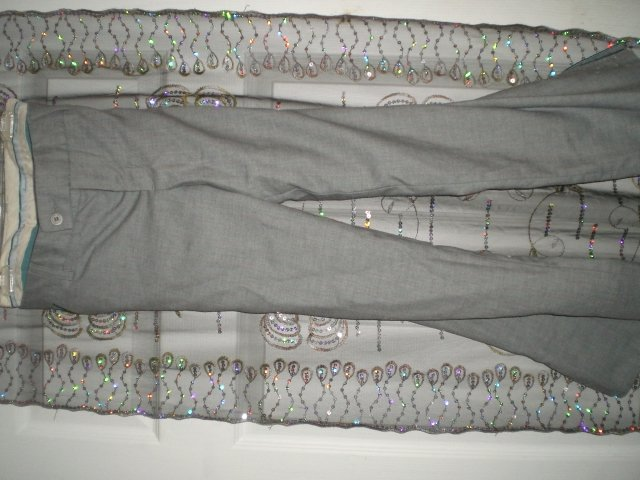 AE Grey wide leg Pants