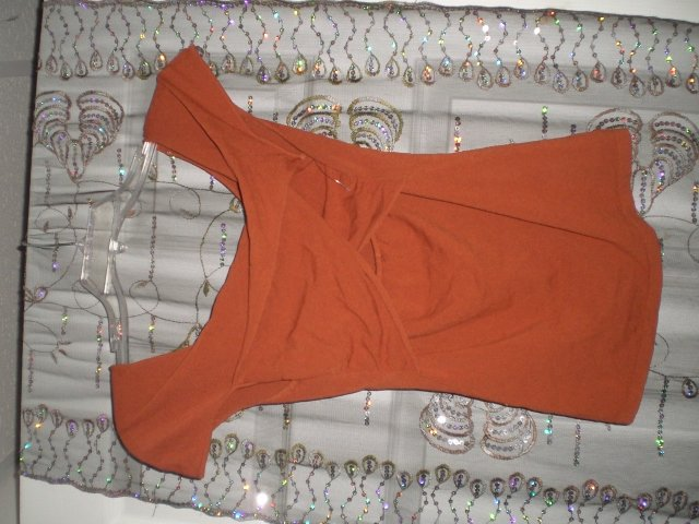 Brunt Orange Culb Shirt