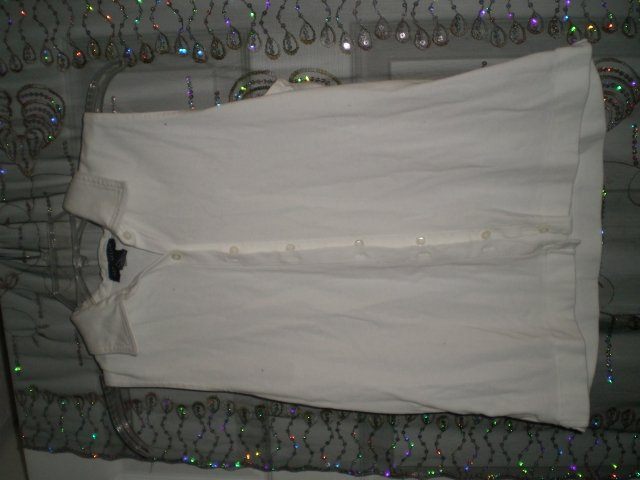 White Ann Taylor Shirt