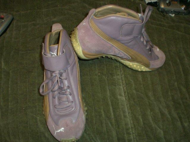 Puma Purple Boots