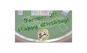 12 Casino Birthday Favors Scratch Off Game Tickets PERSONALIZED