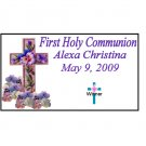 12 First Communion Party Favors Scratch Off Game Tickets PERSONALIZED