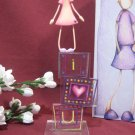 I LOVE YOU FIGURINE COUNTRY ARTISTS ONE HEART by Naomi Hamer  #047899