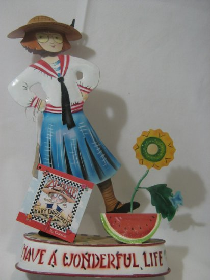 Anne Estelle Have a Wonderful Life Mary Engelbreit Country Decor  #585170