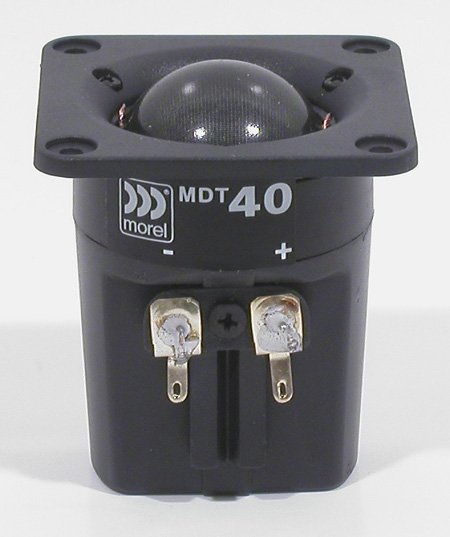 Morel MDT-40 28mm Compact Dome Tweeter
