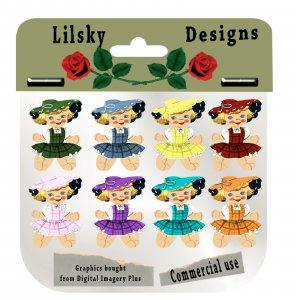 little girls package