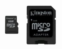 Kingston - 1 GB Micro SD Memory Card