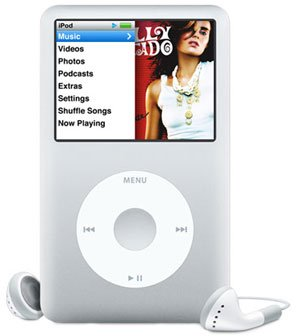 iPod classic 80GB Portable MP3 Player, Generation 6 - Silver