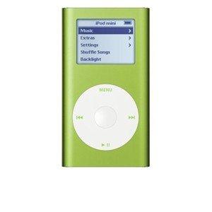 Apple 4 GB iPod Mini Green M9806LL/A