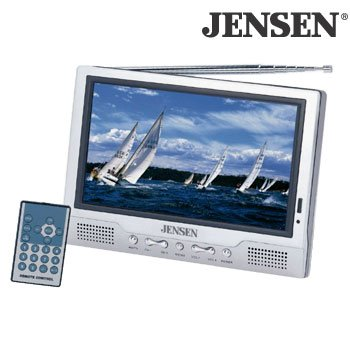 "Jensen Jtft-700 7"" Tft Color Lcd Tv With Widescreen & Usb Input"