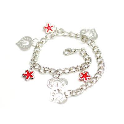 bxsj1001 Sea Star Anklet(Red)