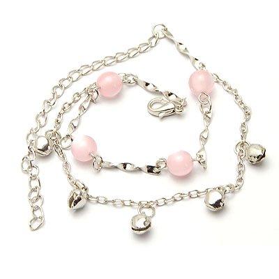 bxsj1007 Pink Pearl Anklet