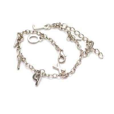 bxsj1002 Alphabet charm chain