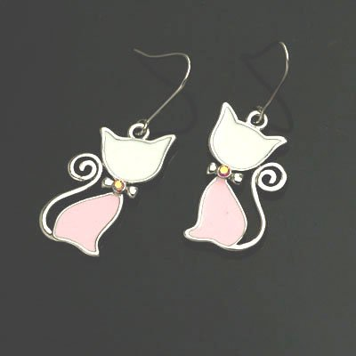 exsj1059 Sexy Cat Earring