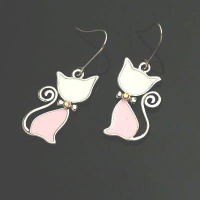 exsj1059 Sexy Cat Earring
