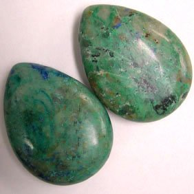 Chinese Azurite Tear Drops - 80+ cts - Jewelry Dreams item GS3az1