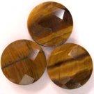 Faceted Tiger Eye Gemstones - 60 karats - JEWELRY DREAMS item GSTE1