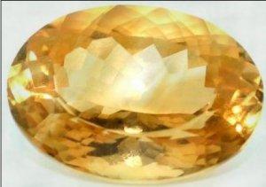 11.29 Karat Natural Citrin Gemstone