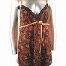 Stretch Knit Camisole (Plus Size)-4533BK-ES214-b2b