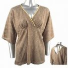 Light-Weight Shimmery Sweater (Plus Size)-4664MC-ES104-b2b