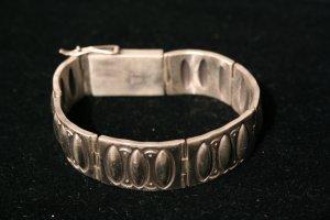 Large Sterling Links Handmade Indian Bracelet-3