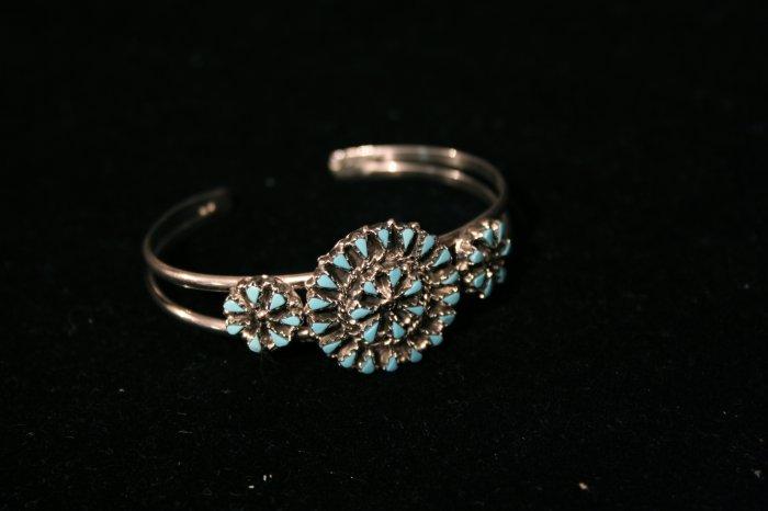 Needlepoint Handmade Indian Bracelet-17