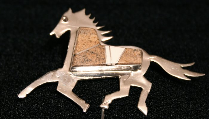 Horse Style Handmade Indian Pendant-3