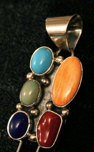 Handmade Indian Pendant-12