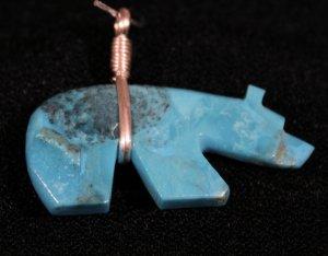 Bear Style Handmade Indian Pendant-16