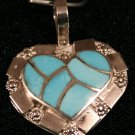 Heart Style Handmade Indian Pendant-17