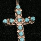 Cross Style Handmade Indian Pendant-19