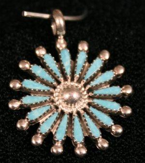 Needlepoint Handmade Indian Pendant-20