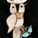 Owl Style Handmade Indian Pendant-24