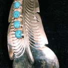 Feather Style Handmade Indian Pendant-25