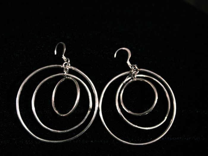 Hoop Handmade Indian Earrings-9