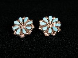 Needlepoint Handmade Indian Earrings-13