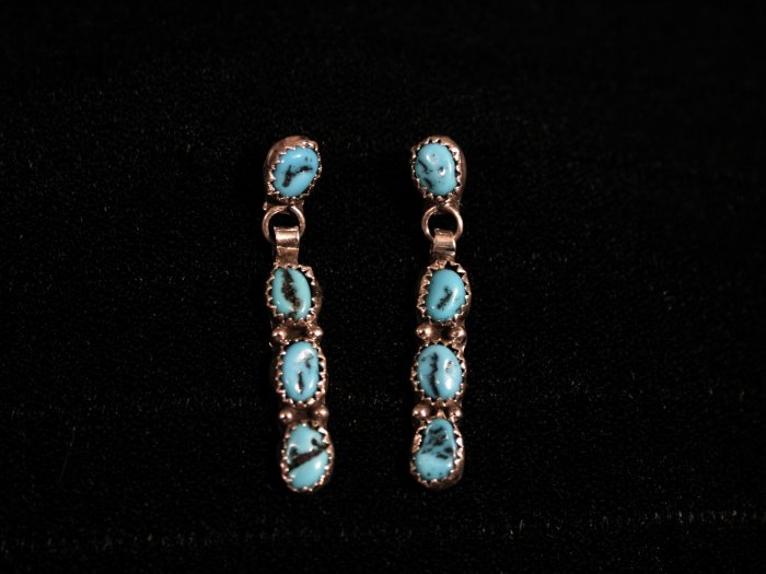 Half-Loop Handmade Indian Earrings-17