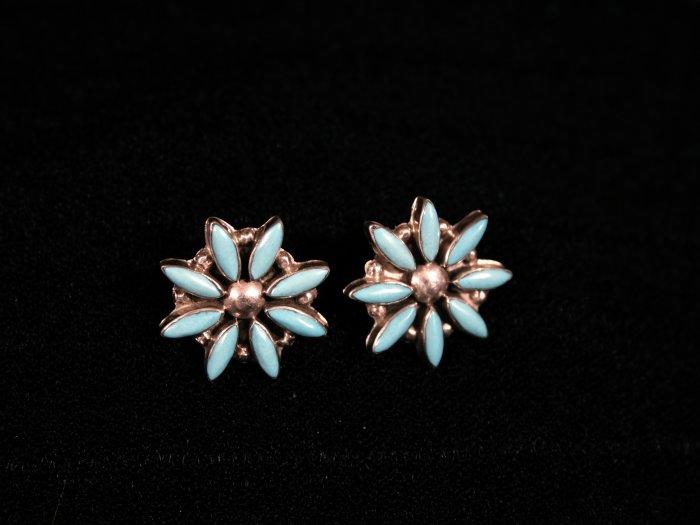 Star Handmade Indian Earrings-25