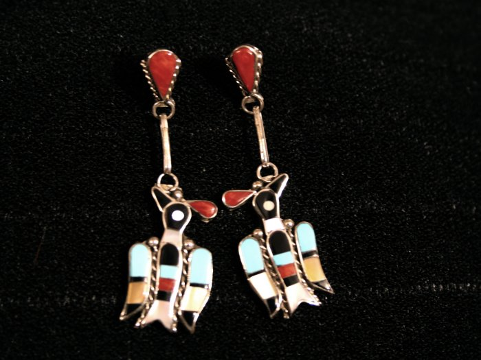 Bird Style Handmade Indian Earrings-26