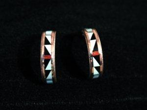 Half Hoop Handmade Indian Earrings-28