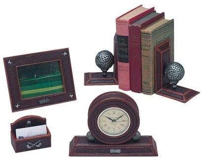 5pc Golfers Desk Set
