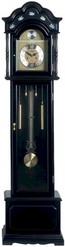 Edward Meyer Grandfather Clock with black finish