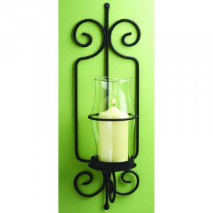Julianne Wrought Iron Wall Sconce