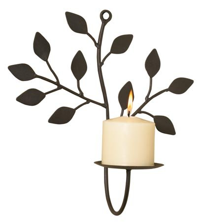 Branch and Leaf Wall Sconce